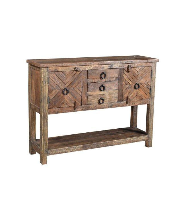 India - Old Furniture Reclaimed teak console