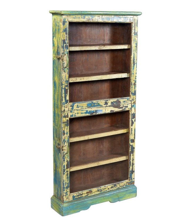 India - Old Furniture Old glazed wall cabinet