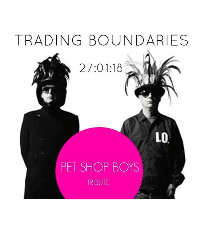 Pet Shop Boys Tribute <br>Saturday 27th January</br>