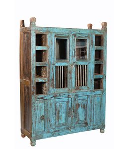 India - Old Furniture Old Tribal Pantry Cabinet