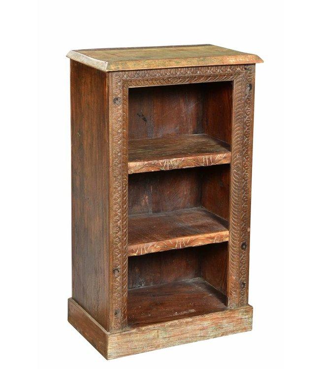 India - Old Furniture Reclaimed teak shelving rack