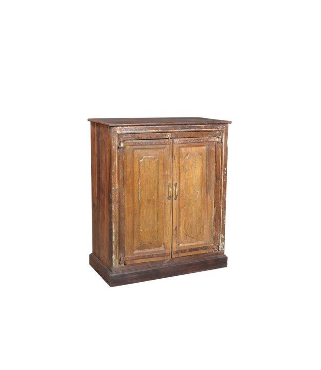 India - Old Furniture Original teak cabinet