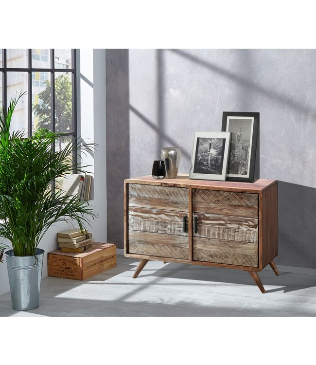 India - Reproduction Furniture Zen Acacia Small Sideboard