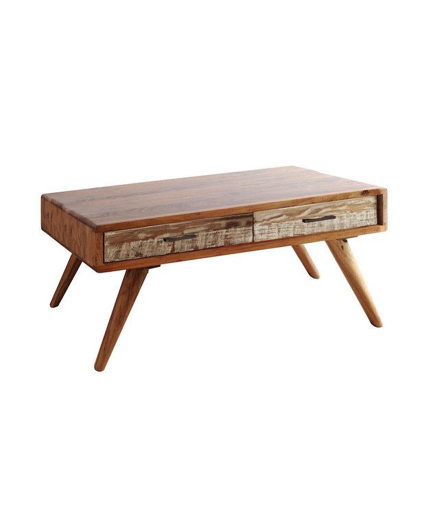 India - Reproduction Furniture Zen Acacia Coffee Table
