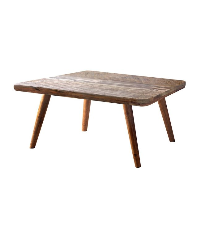 India - Reproduction Furniture Zen Acacia Simple Coffee Table