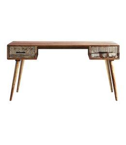 India - Reproduction Furniture Zen Acacia Writing Desk