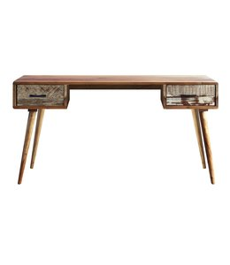 Zen Acacia Writing Desk