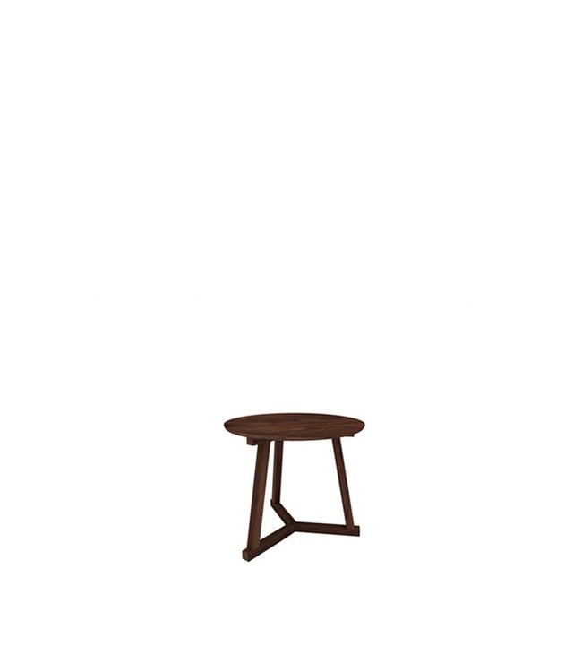 Walnut Tripod side table