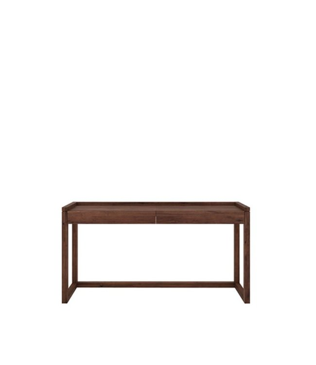 Ethnicraft Walnut Walnut Frame PC console - 2 drawers
