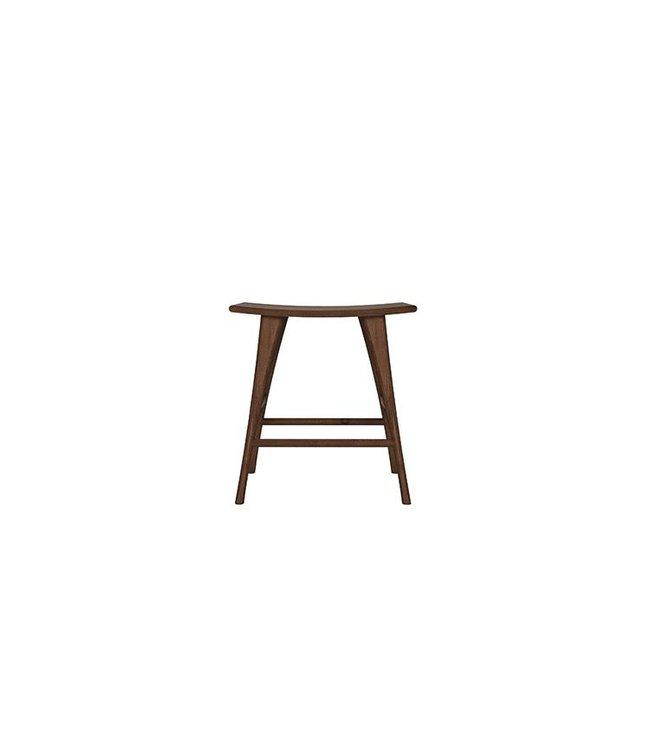 Ethnicraft Walnut Walnut Osso stool