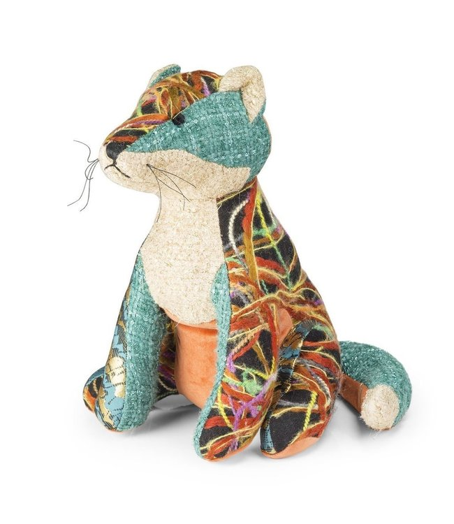 Patchwork Fox Door Stop