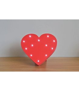 Level 2 Accessories etc Up in Lights Red Heart