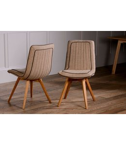 Stag Harris Tweed Dining Chair