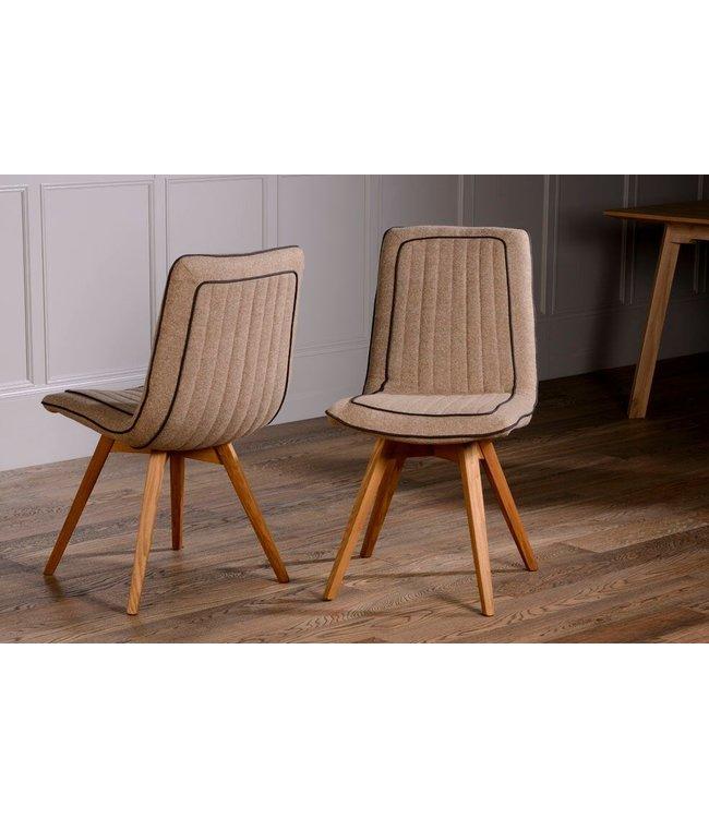 Stag Harris Tweed Dining Chair