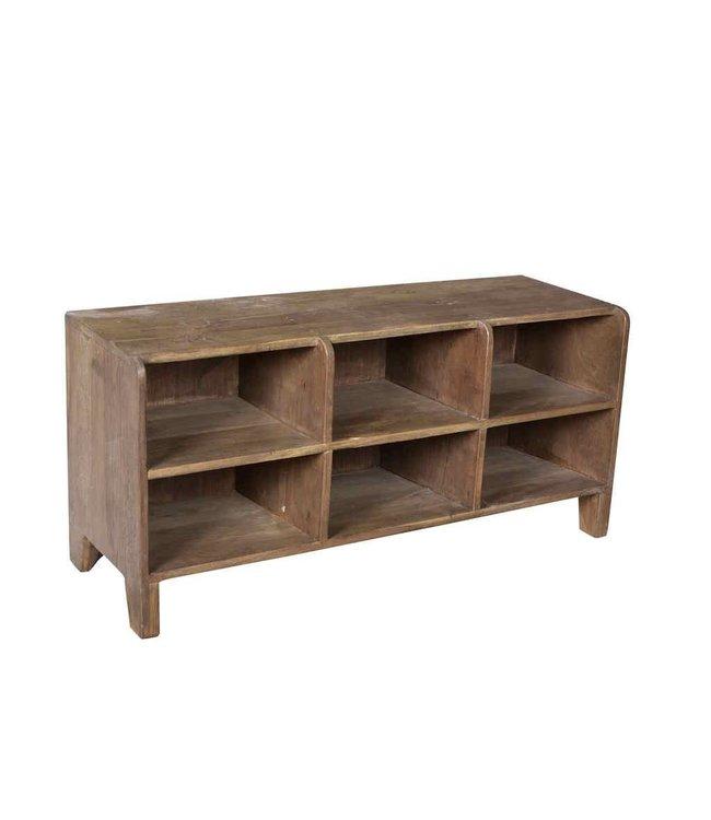 India - Old Furniture Old Teak Shelving