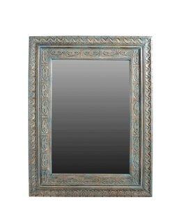 Beautiful Teak Painted Mirror