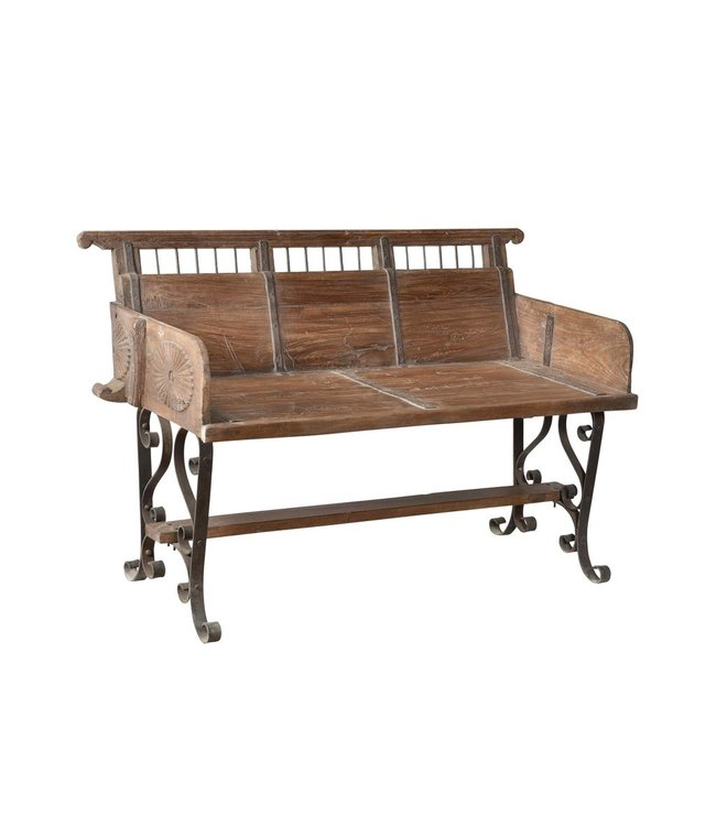 India - Old Furniture Industrial Wooden Bench