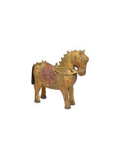 India - Handicrafts Original Teak Wooden Horse