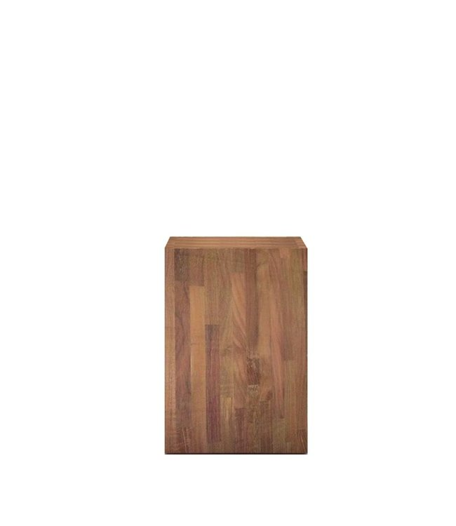 Teak Butcher Side Table