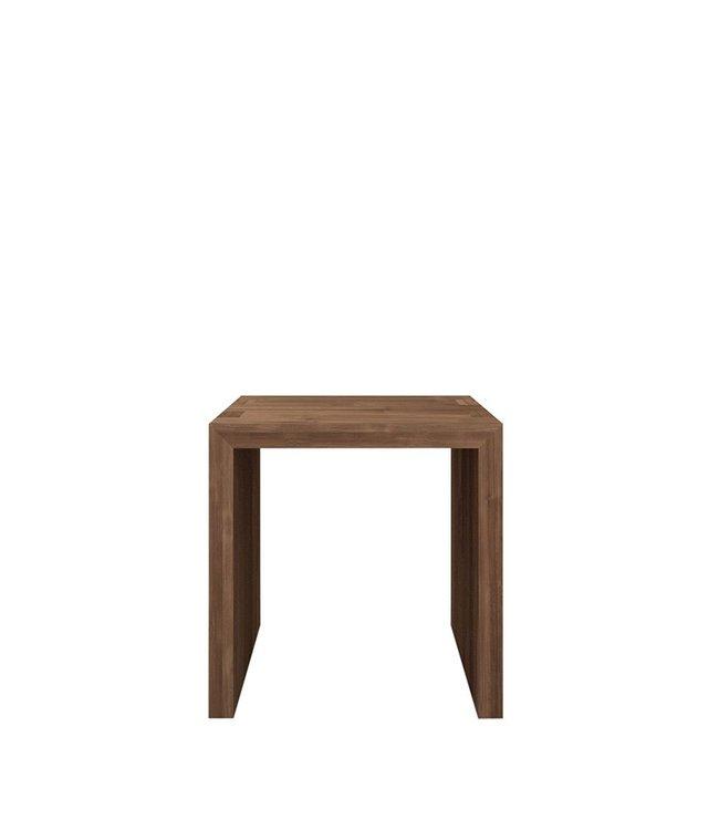 Ethnicraft Teak Teak Cube open side table