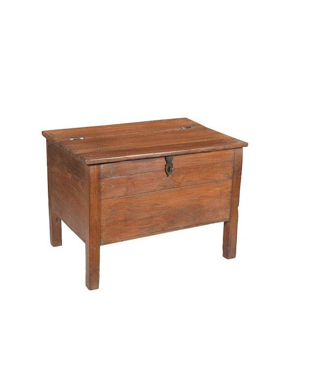 India - Old Furniture Old Teak Desk