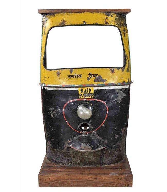 India - Old Furniture Rickshaw Bar