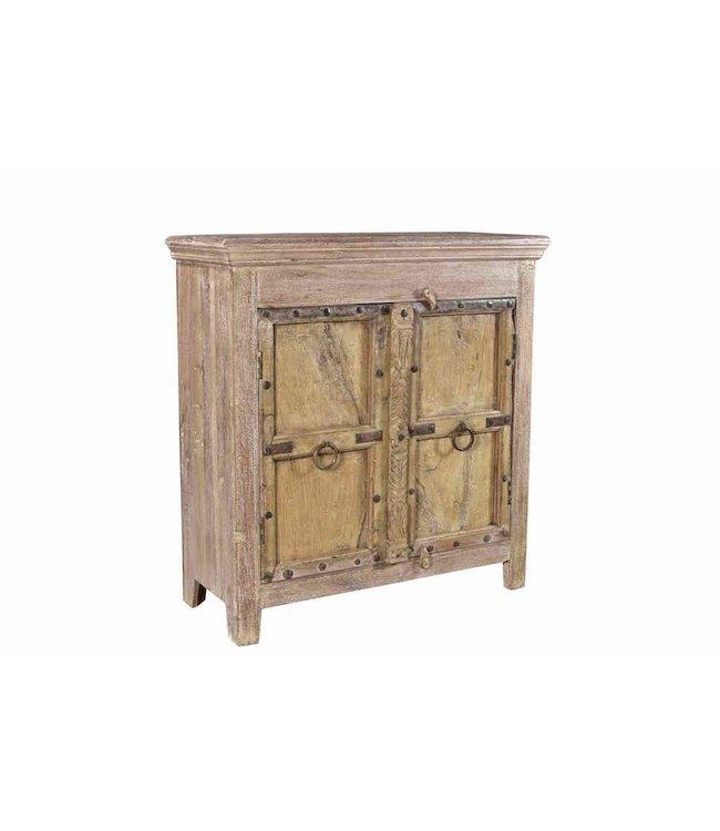 India - Old Furniture Old Door Cabinet