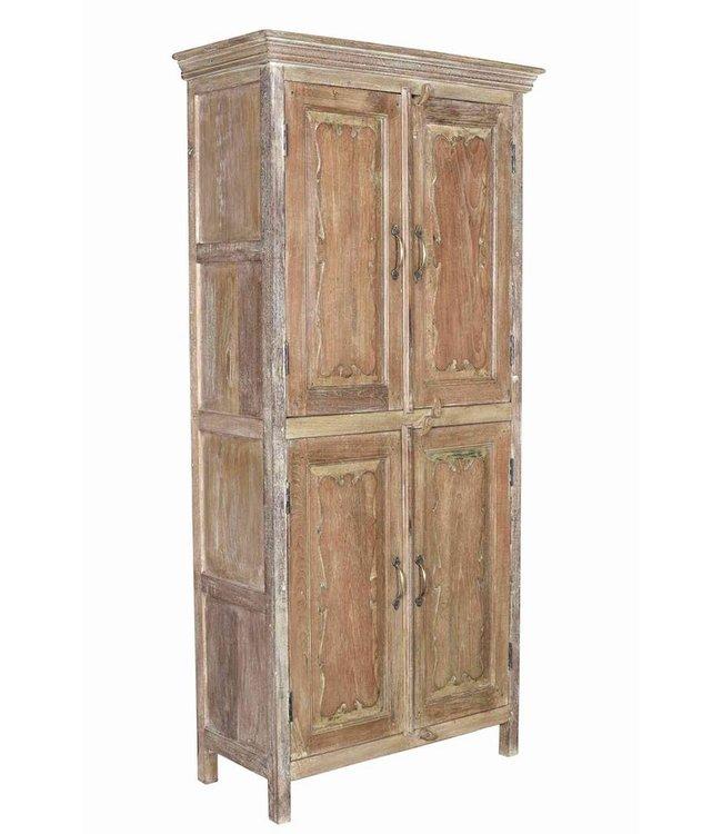 India - Old Furniture Old Teak Cabinet
