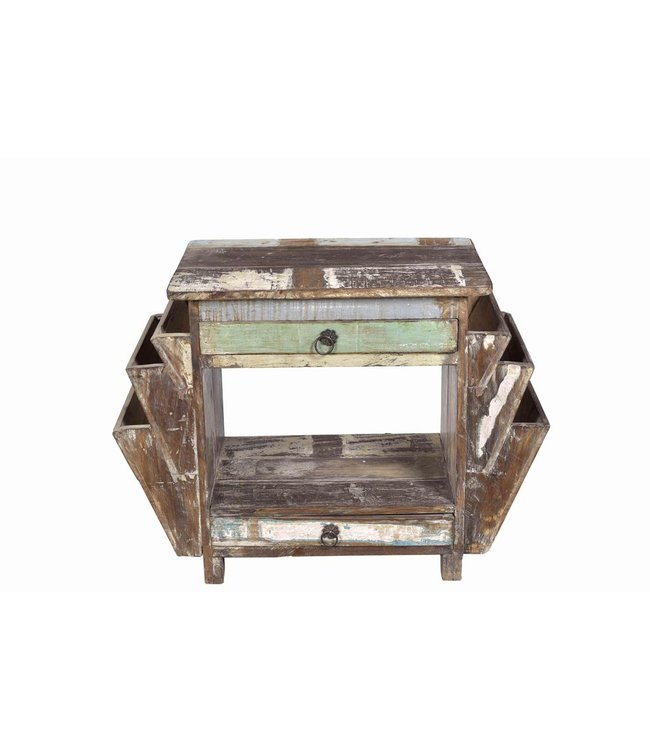 India - Old Furniture Original Colonial Side Table