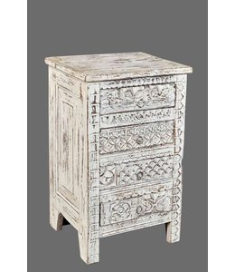 India - Old Furniture Small Chest of Drawers