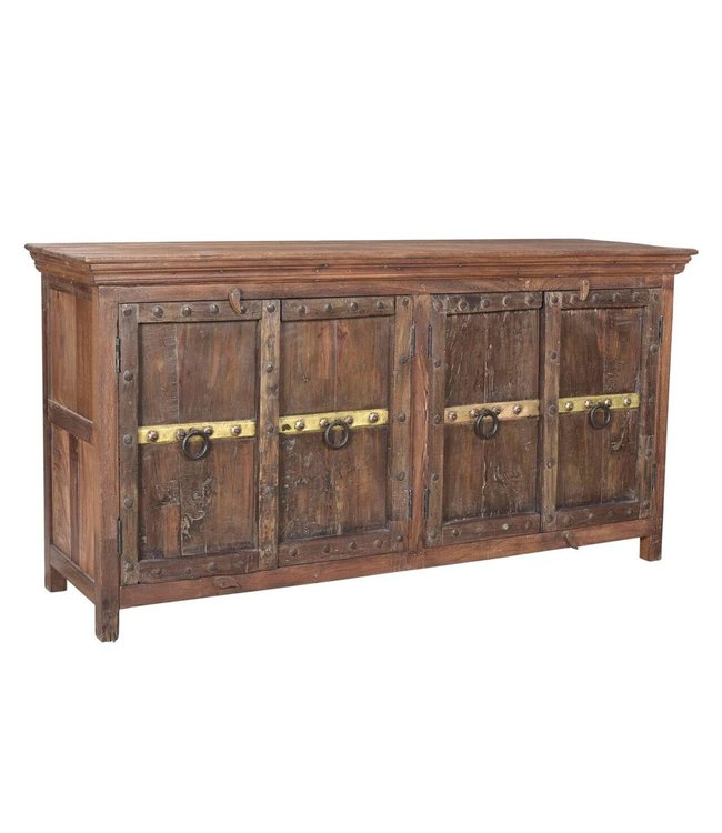 India - Old Furniture Sideboard with Original Indian Doors