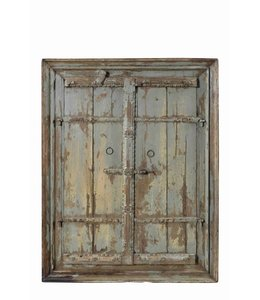India - Old Furniture Original Teak Rajasthani Doors