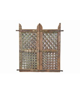 India - Old Furniture Original Teak Rajasthani Tribal Gates