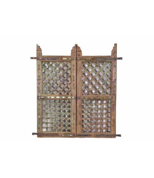 Original Teak Rajasthani Tribal Gates