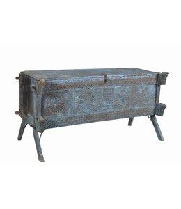 India - Old Furniture Rare Damachaya Chest with Original Patina