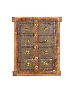 India - Old Furniture Original Indian Window Shutter