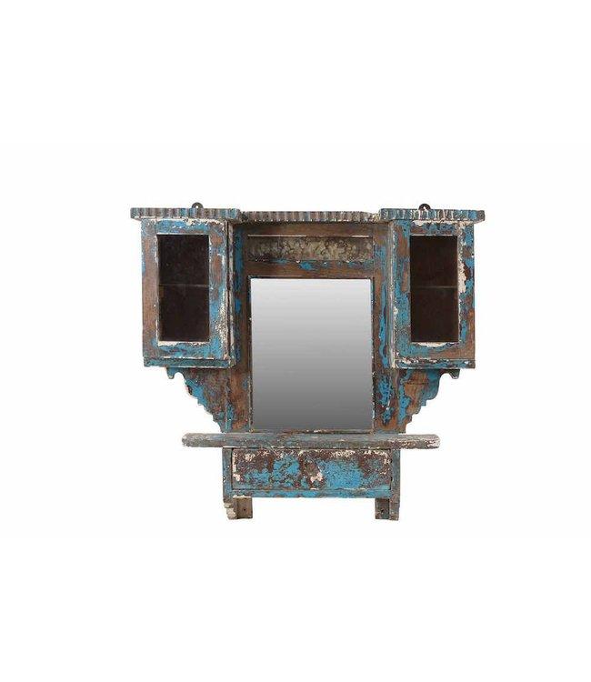 India - Old Furniture Original Indian Vanity Mirror