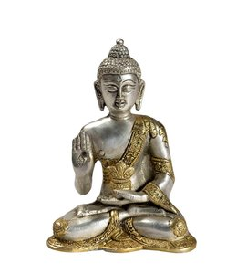India - Handicrafts Seated Brass Buddha