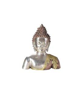 India - Handicrafts Brass Buddha Head