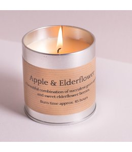 Apple & Elderflower Candle Tin