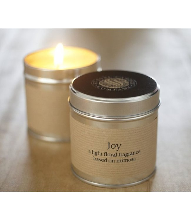 Level 2 Accessories etc Joy Scented Tin Candle