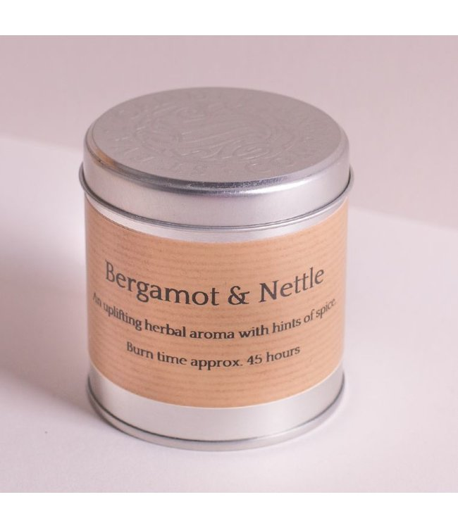 Level 2 Accessories etc Bergamot & Nettle Scented Tin Candle
