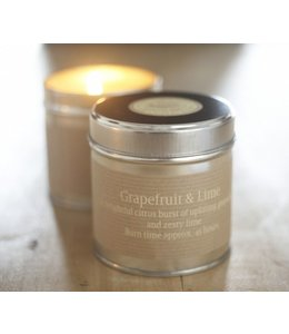 Level 2 Accessories etc Grapefruit & Lime Scented Candle Tin