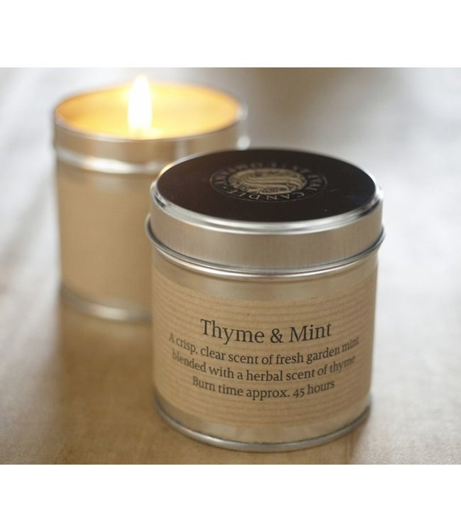 Level 2 Accessories etc Thyme & Mint Scented Candle Tin