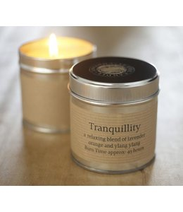 Tranquility Scented Candle Tin