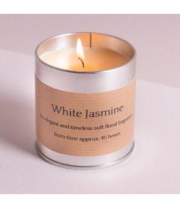Level 2 Accessories etc White Jasmine Candle Tin