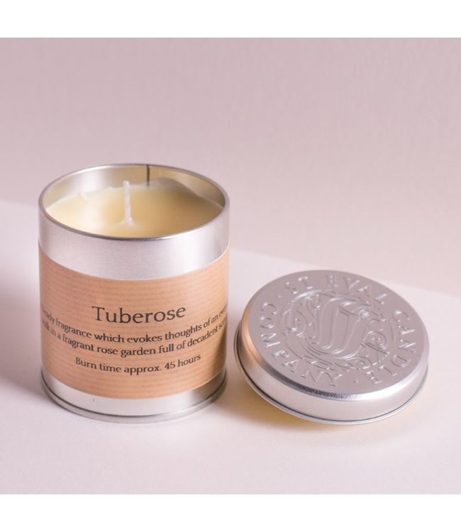 Tuberose Candle Tin