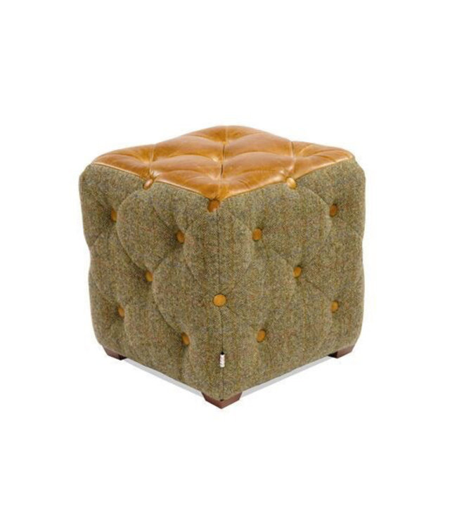 Cube Buttons Footstool