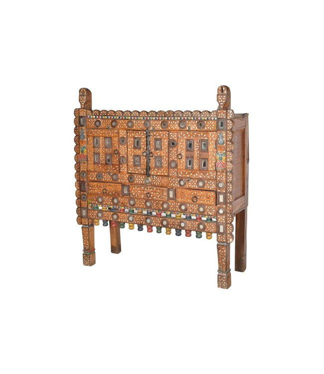 Tribal Damachya Dowry Chest