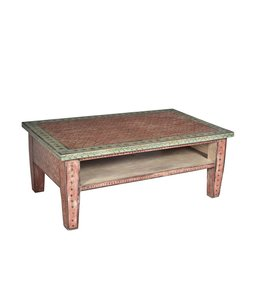 India - Old Furniture Reclaimed Teak Side Table